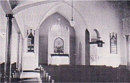 Church interior after 1904